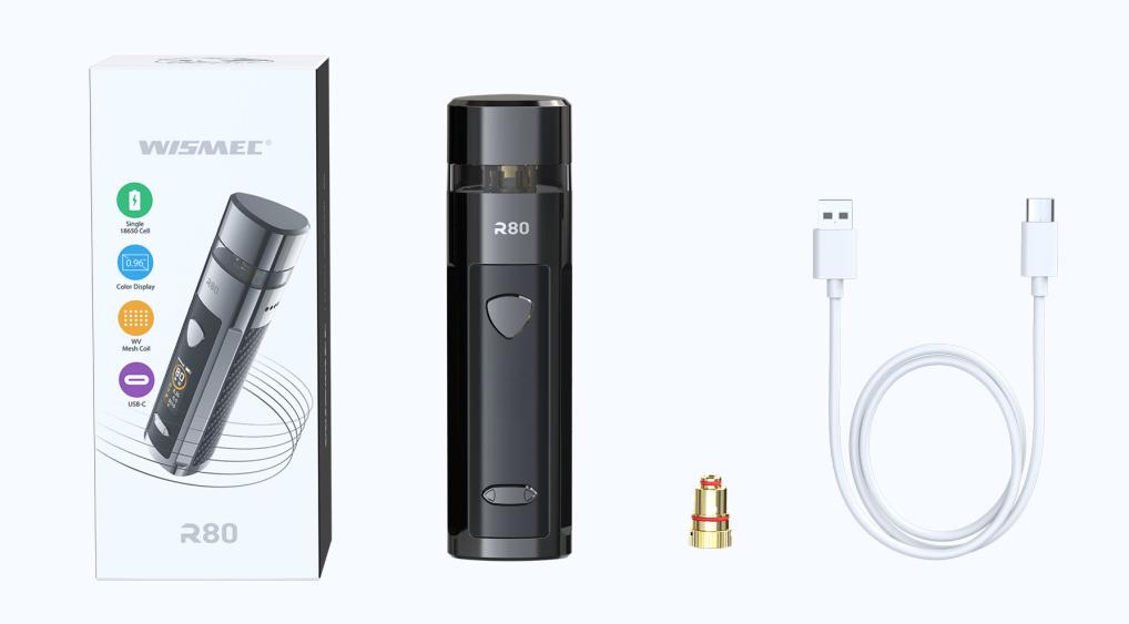 Wismec R80 Kit Components