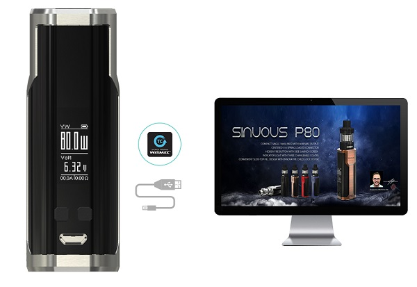 sinuous p80 mod easy to update