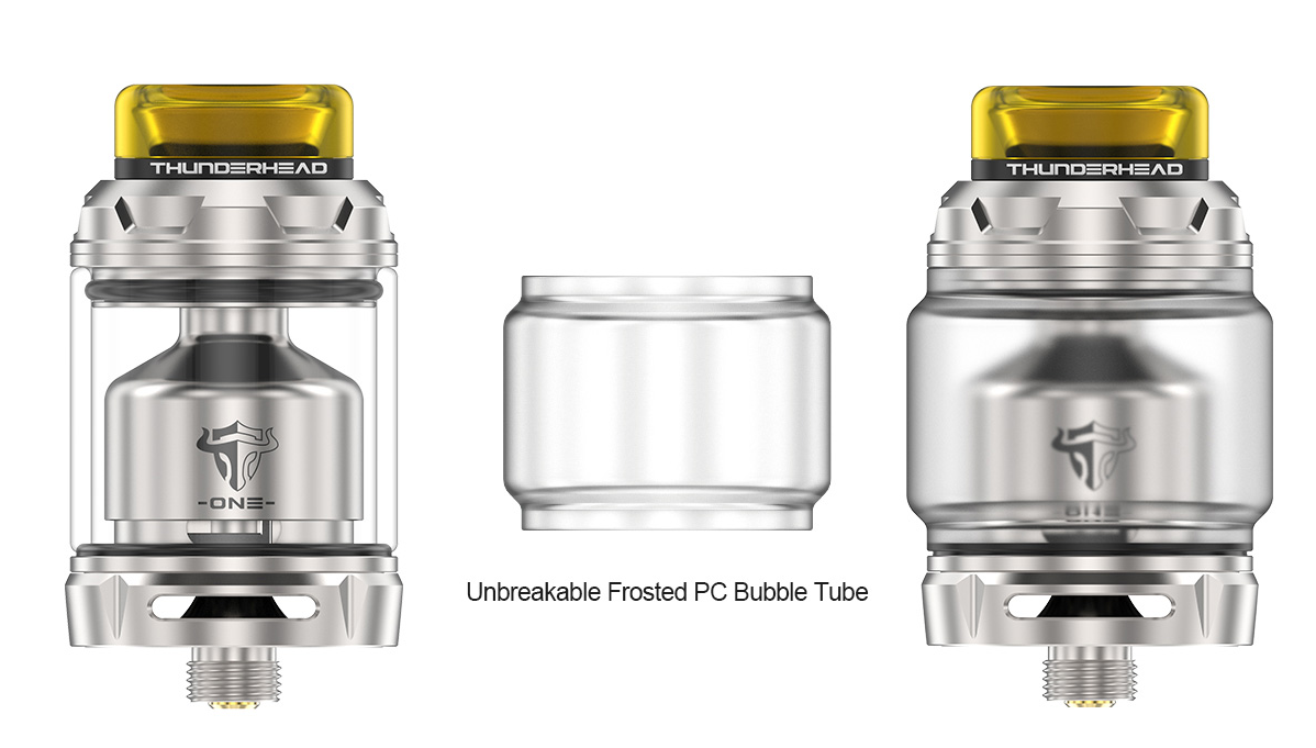 ThunderHead Creations Tauren One RTA PC bubble glass