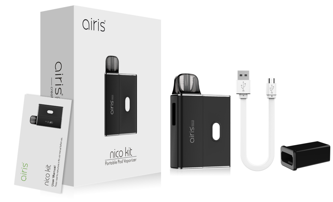 Airis Nico Pod System Kit Package