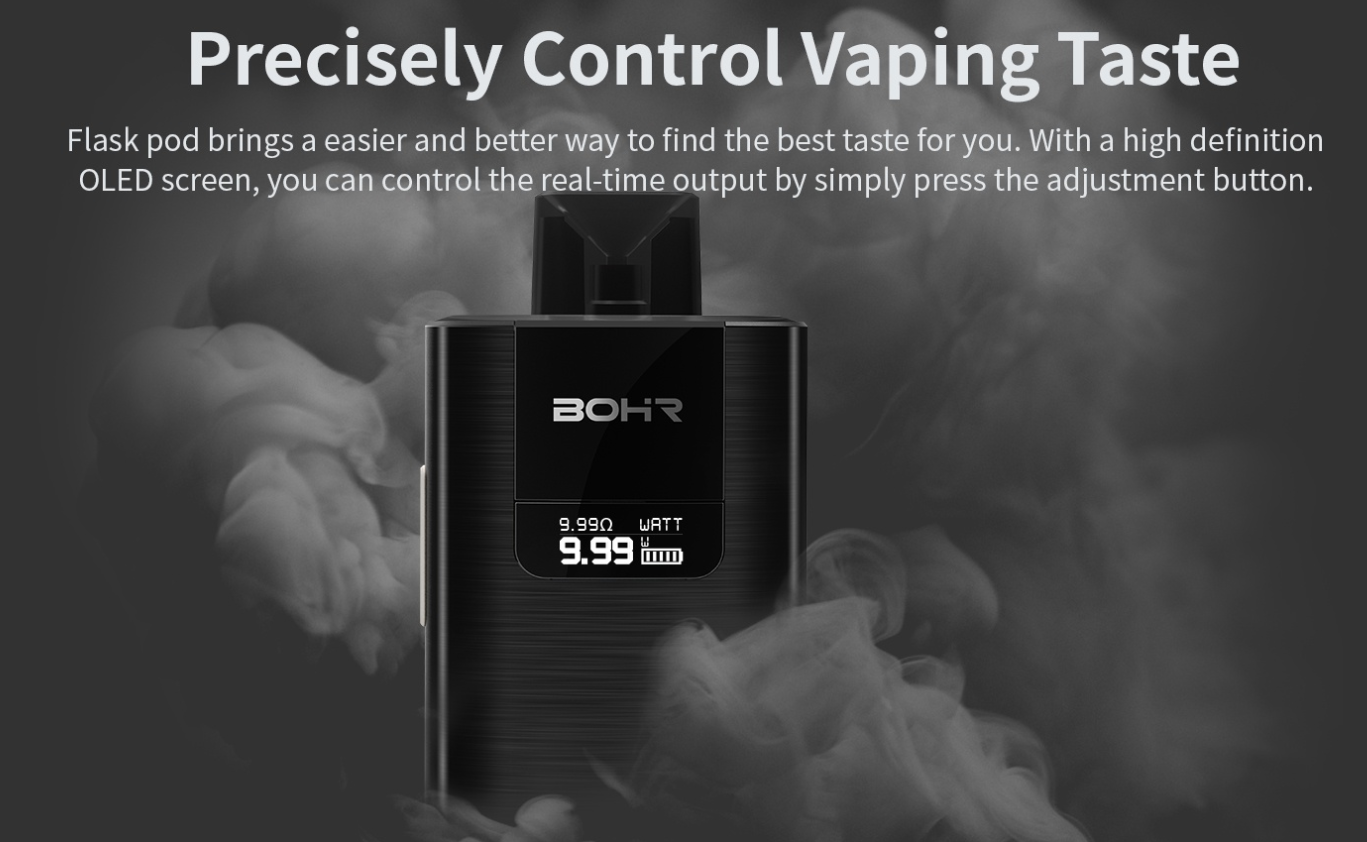 Precisely Control Vaping Taste