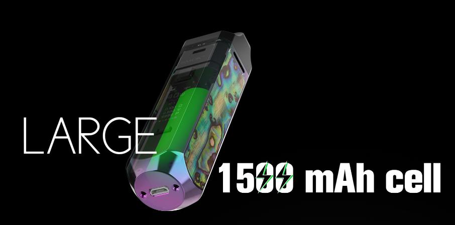 SMOK RPM40 Pod Mod Kit 1500mAh Battery Capacity