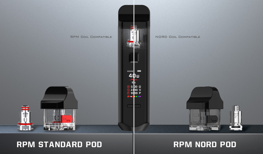 SMOK RPM40 Pod Mod Kit More Coil Options For RPM Pod