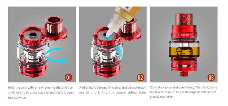 TFV12 Baby Prince with TOP REFILL SYSTEM