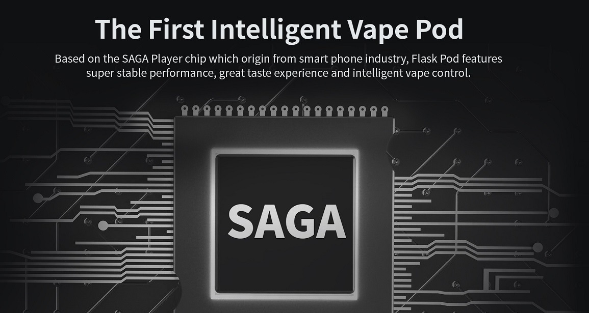 The first intelligent vape