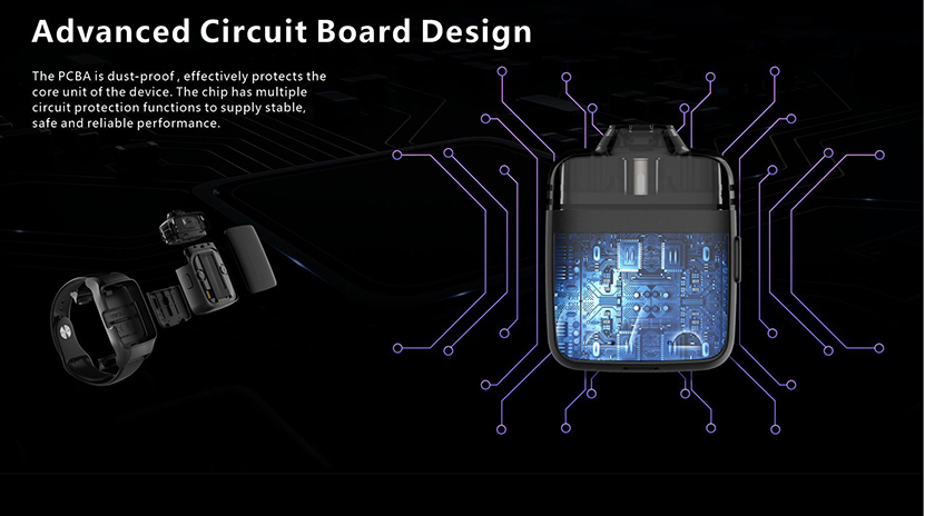 Uwell Amulet Pod System Kit Advanced Circuit Board Design
