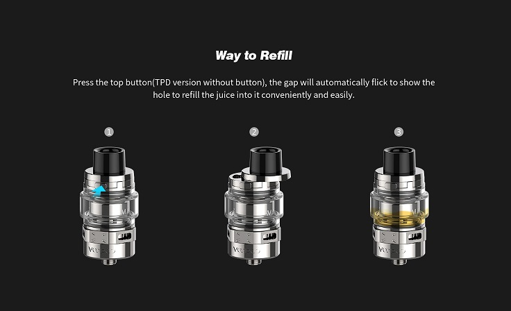 VOOPOO Maat Sub Ohm Tank Way to Refill
