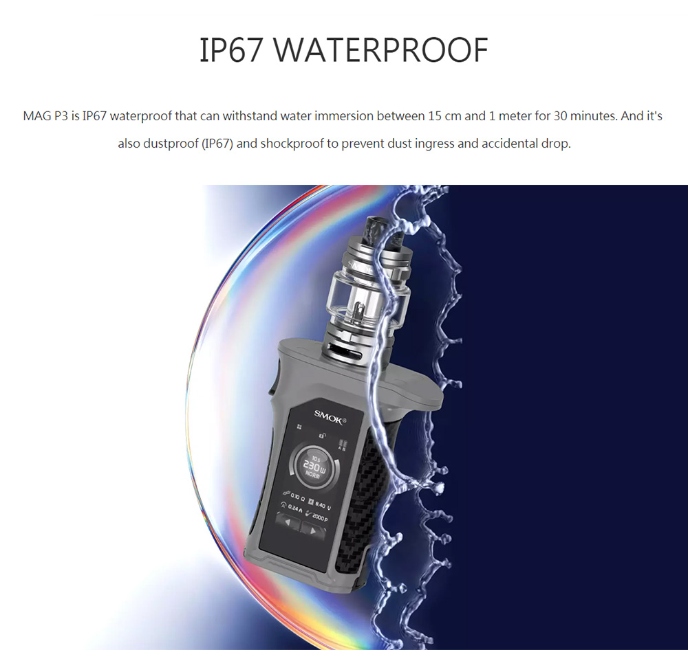 Smok Mag P3 Kit IP67 Waterproof