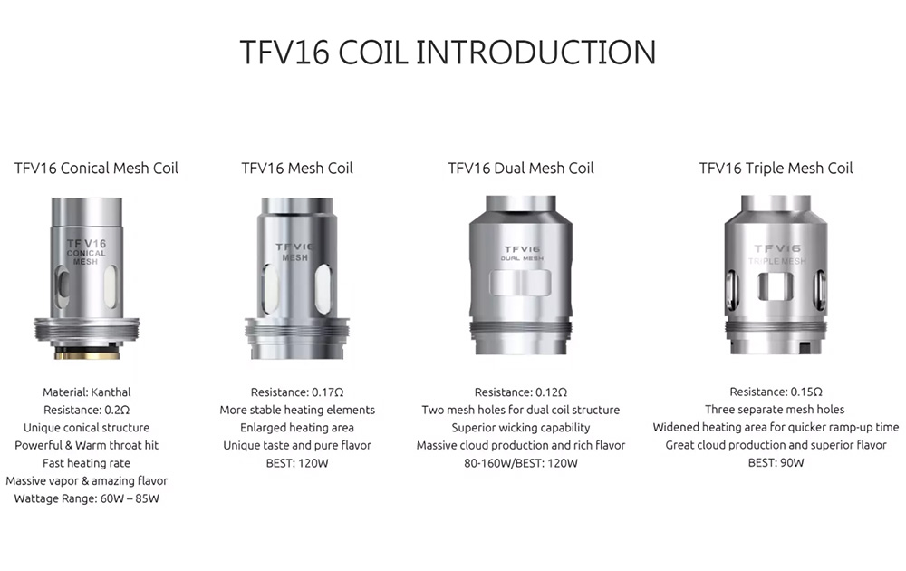 Smok Mag P3 Kit TFV16 Coil Introduction