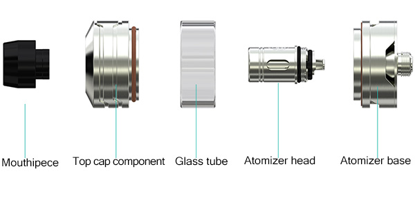 structure of wismec divider tank