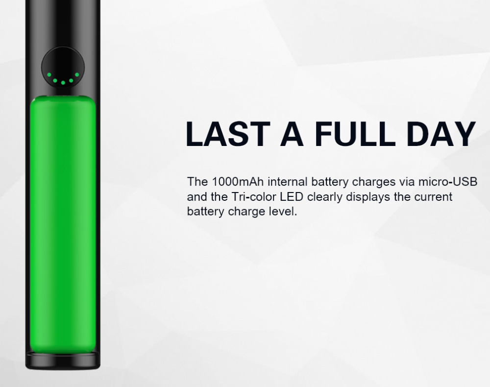 INNOKIN JEM Pen AIO Kit battery life
