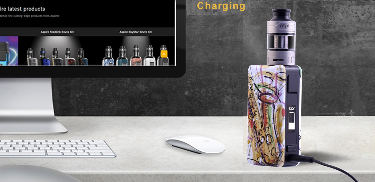Aspire Puxos charging