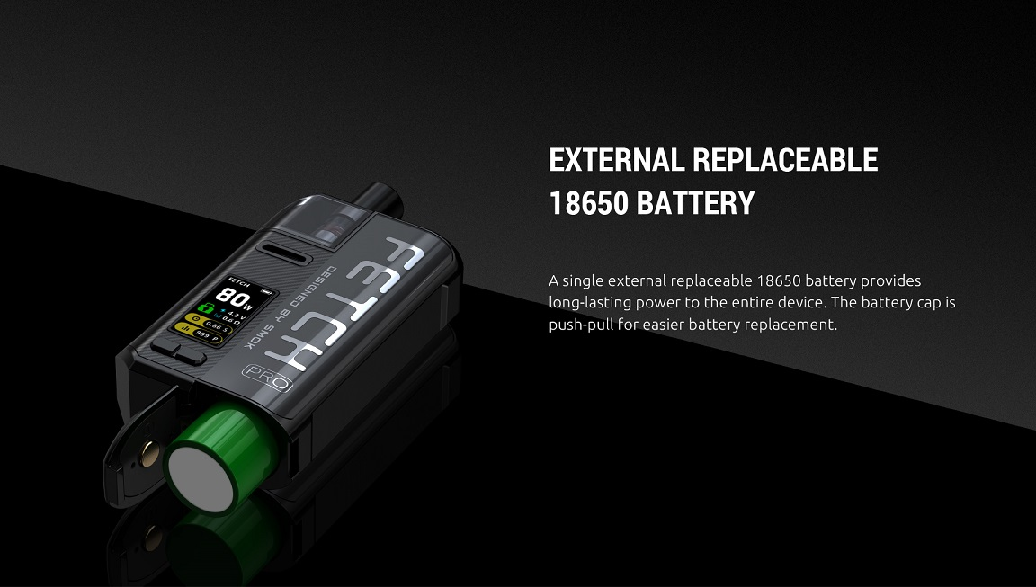 Fetch Pro External 18650 Battery