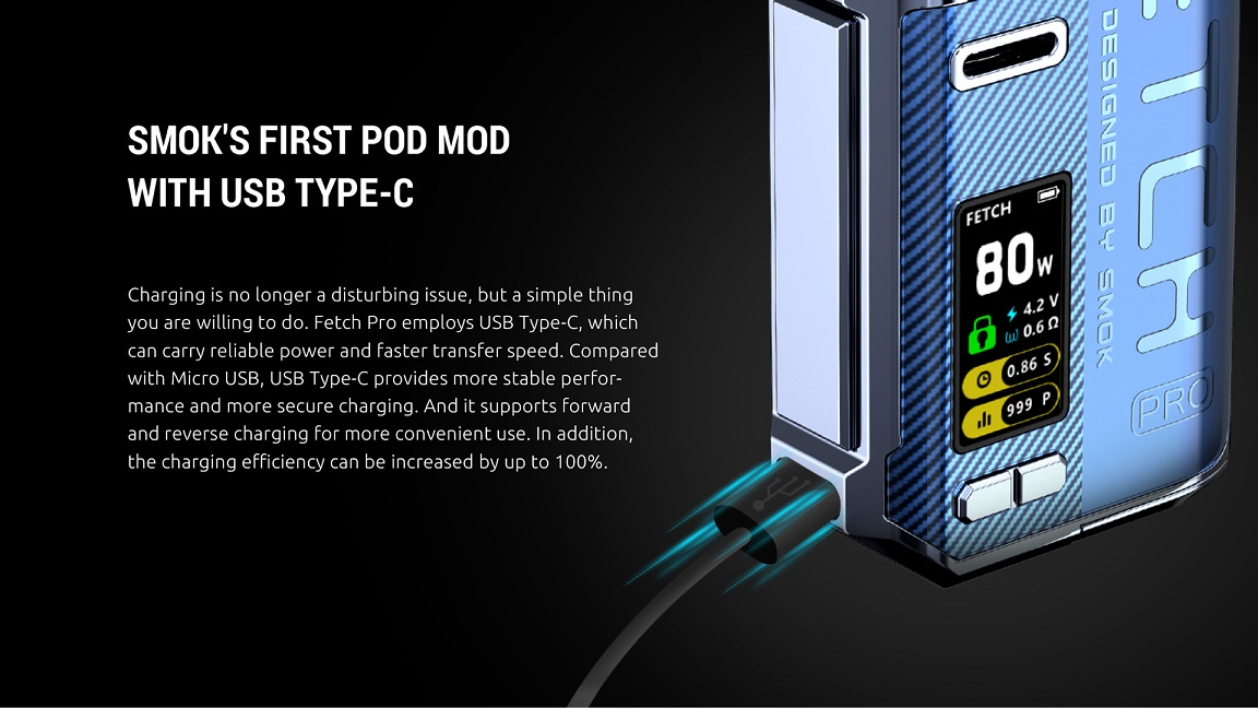 Fetch Pro Pod Mod with Type C