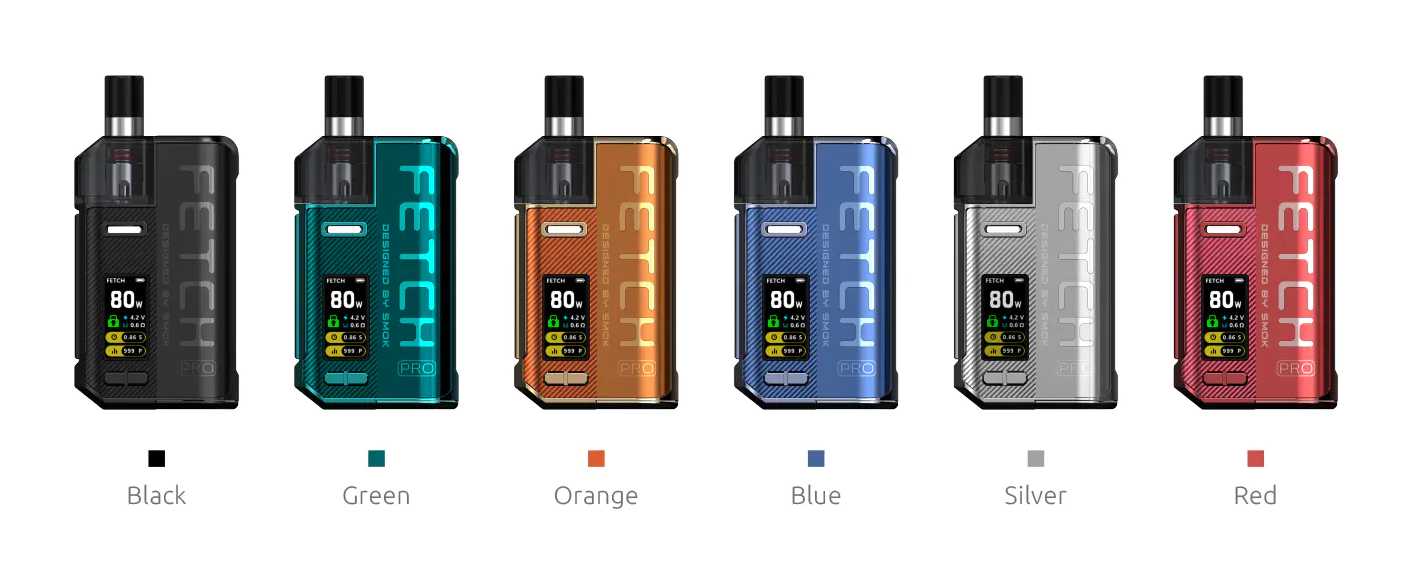SMOK Fetch Pro Six Colors Available