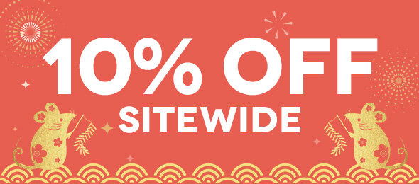 NEW YEAR 10%OFF Sitewide