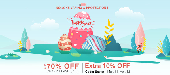 Happy Easter Get 10% OFF Sitewide