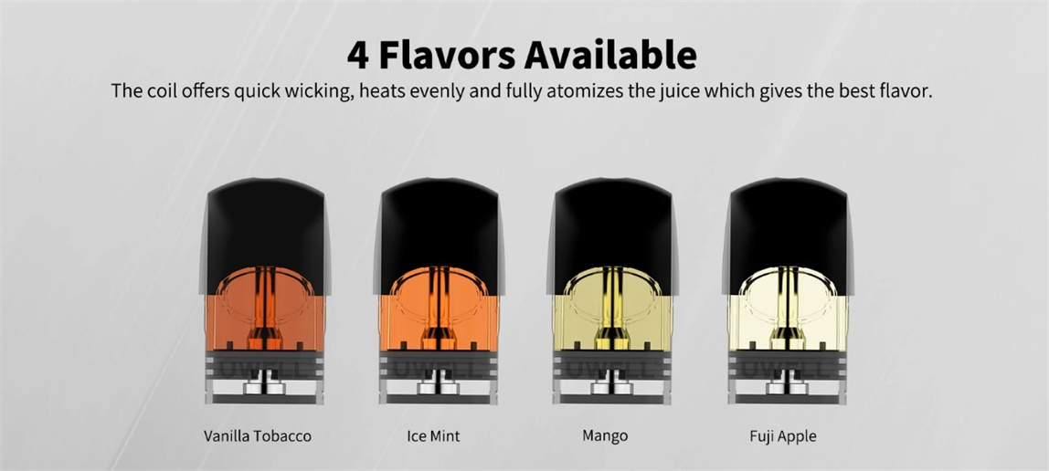 Uwell Yearn Pod 4 Flavors Available