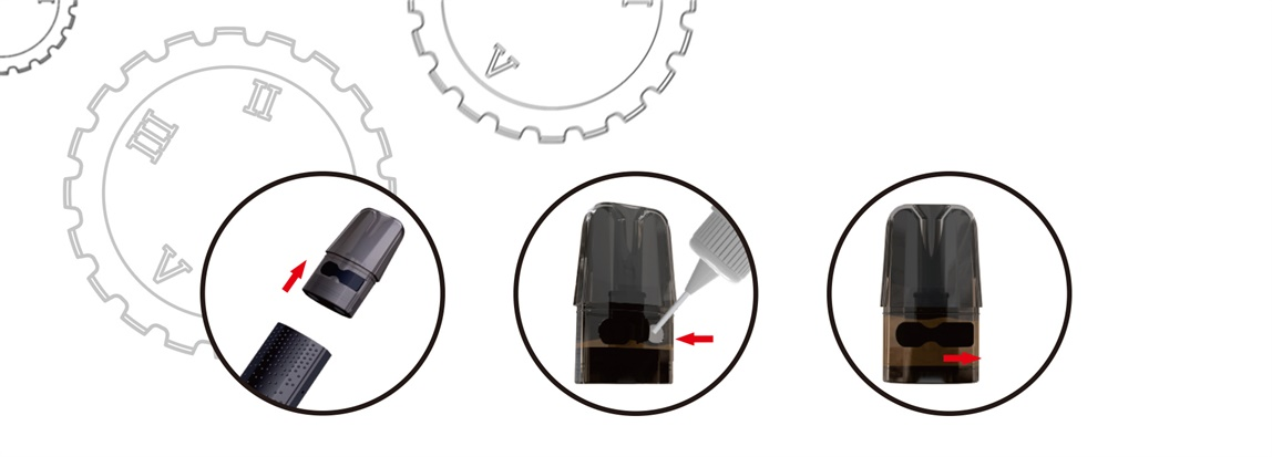 potento pod kit filling