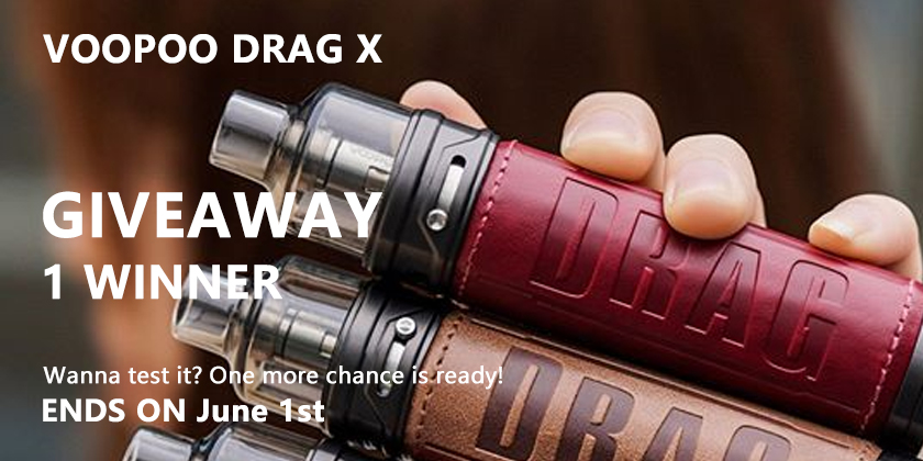 『Activity』Voopoo Drag X Tester Wanted