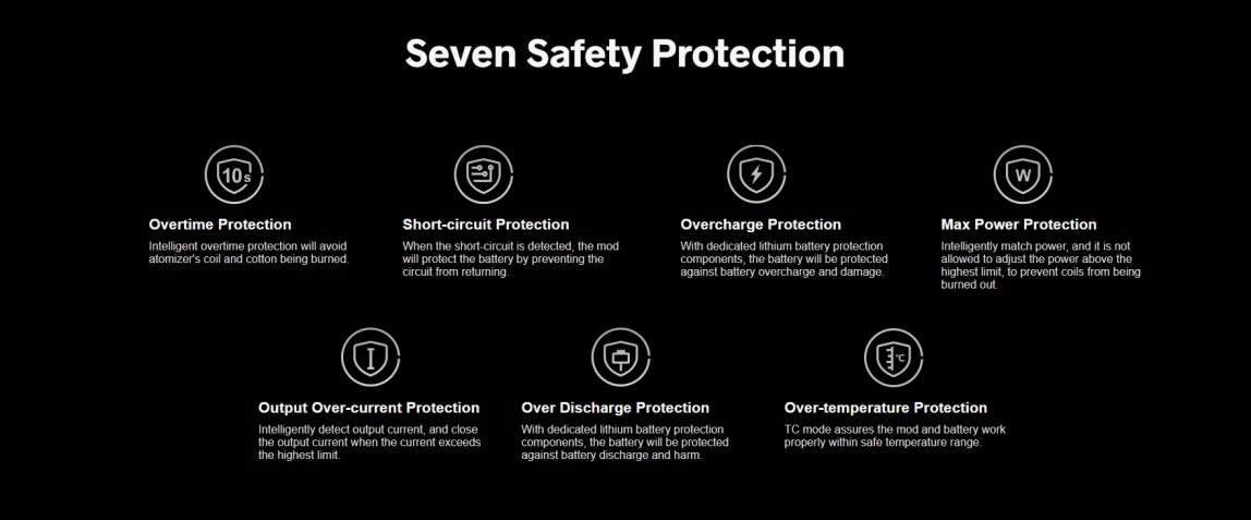 Drag S Seven Safety Protection