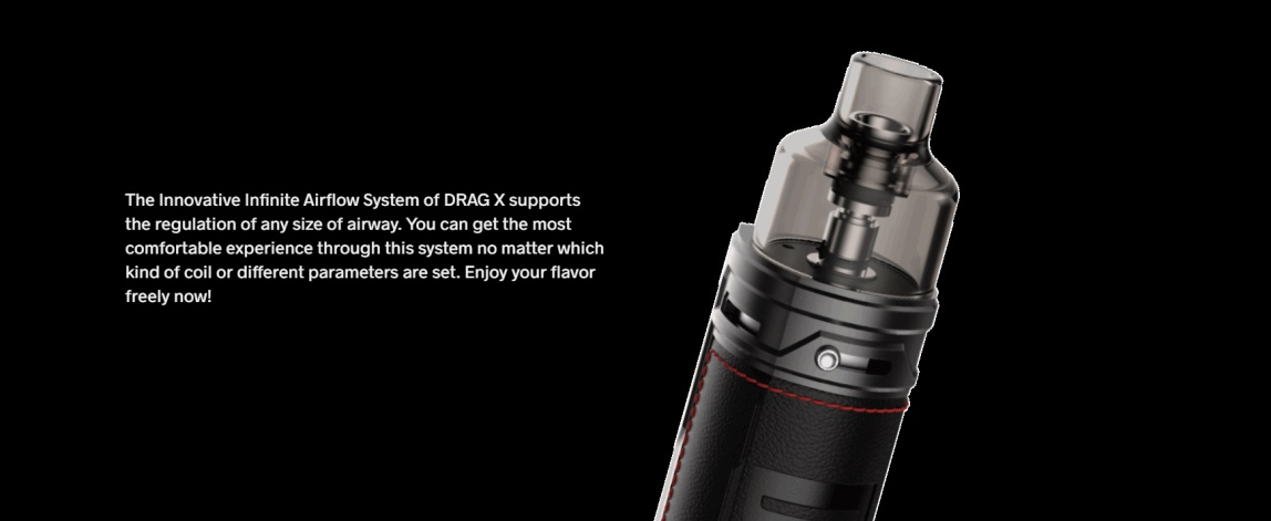 Drag X Infinite Airflow System