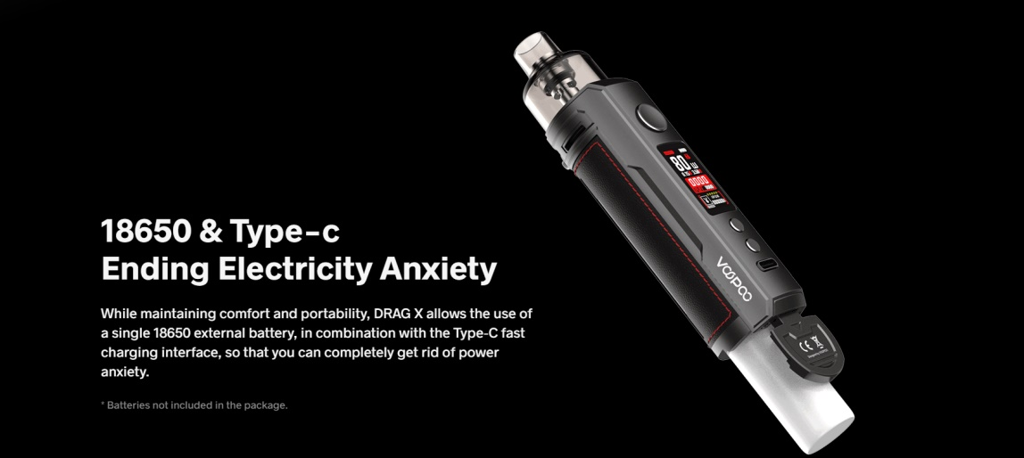 VOOPOO Drag X Extra 18650 Battery