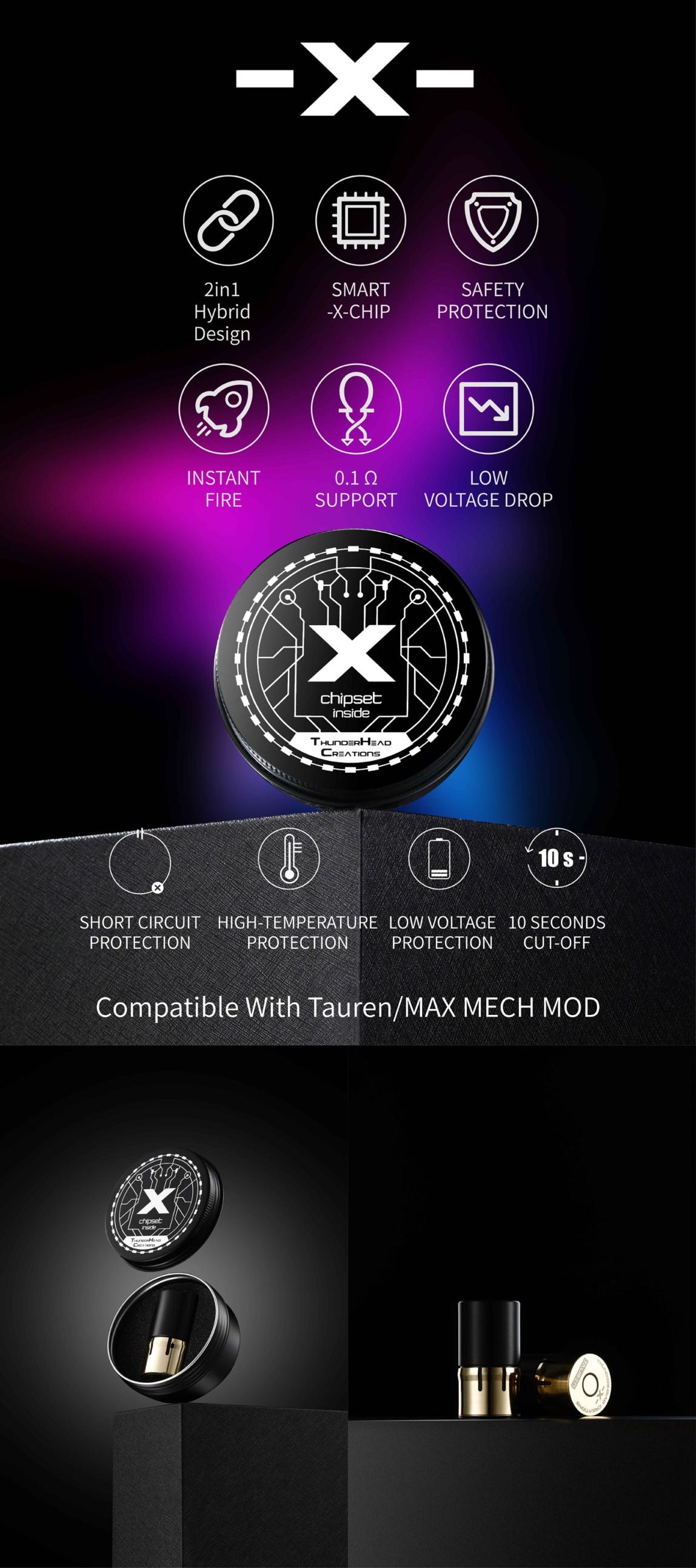 Thc Tauren X Chipset Features