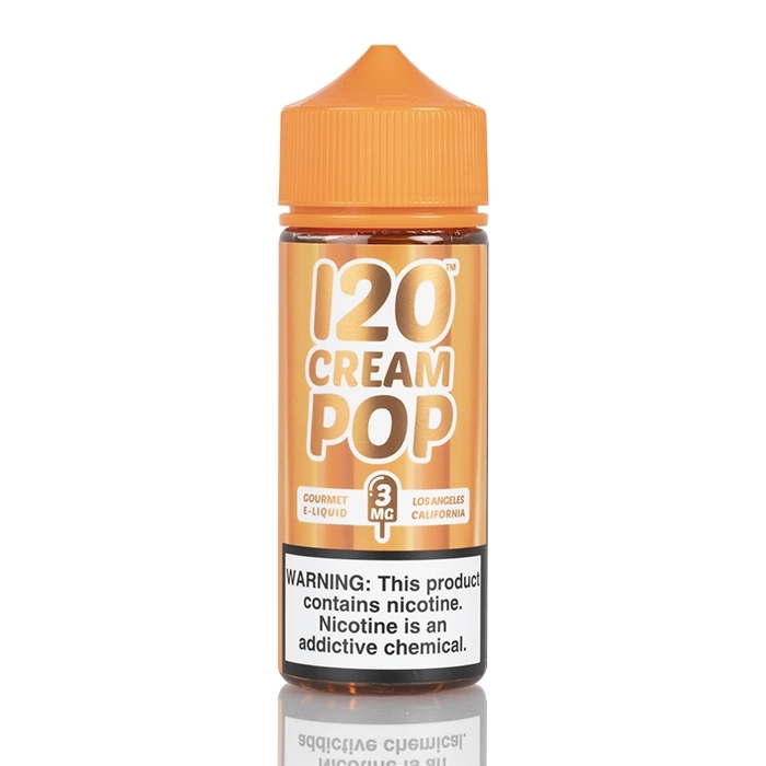 Mad Hatter 120 Cream Pop E-Juice 120ml