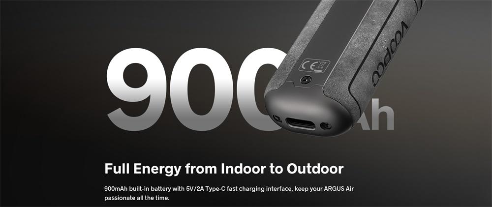 ARGUS Air Built-in Battery