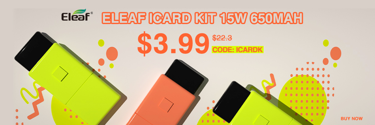 Eleaf iCard Kit 3.99USD