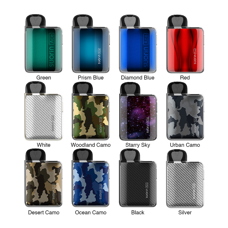 suorin ace pod kit 1000mah colors