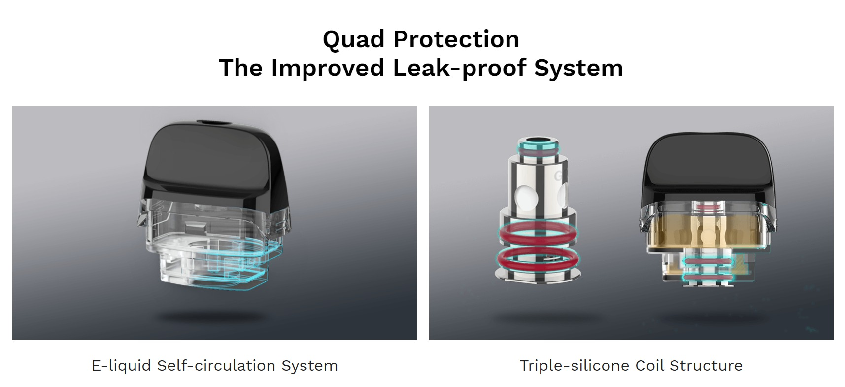 Luxe PM40 Leak-proof System