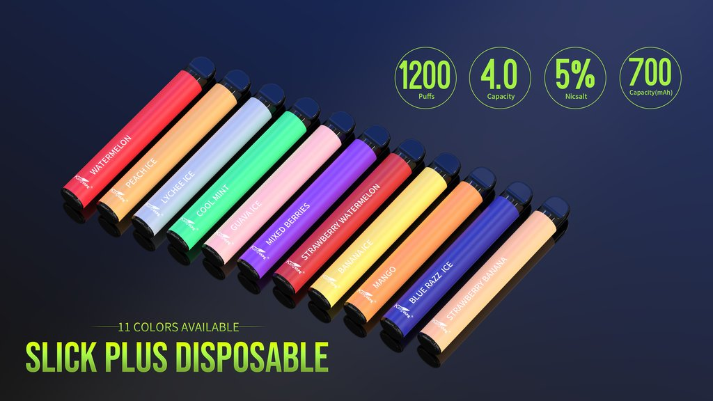 kangvape slick plus 11 flavors available