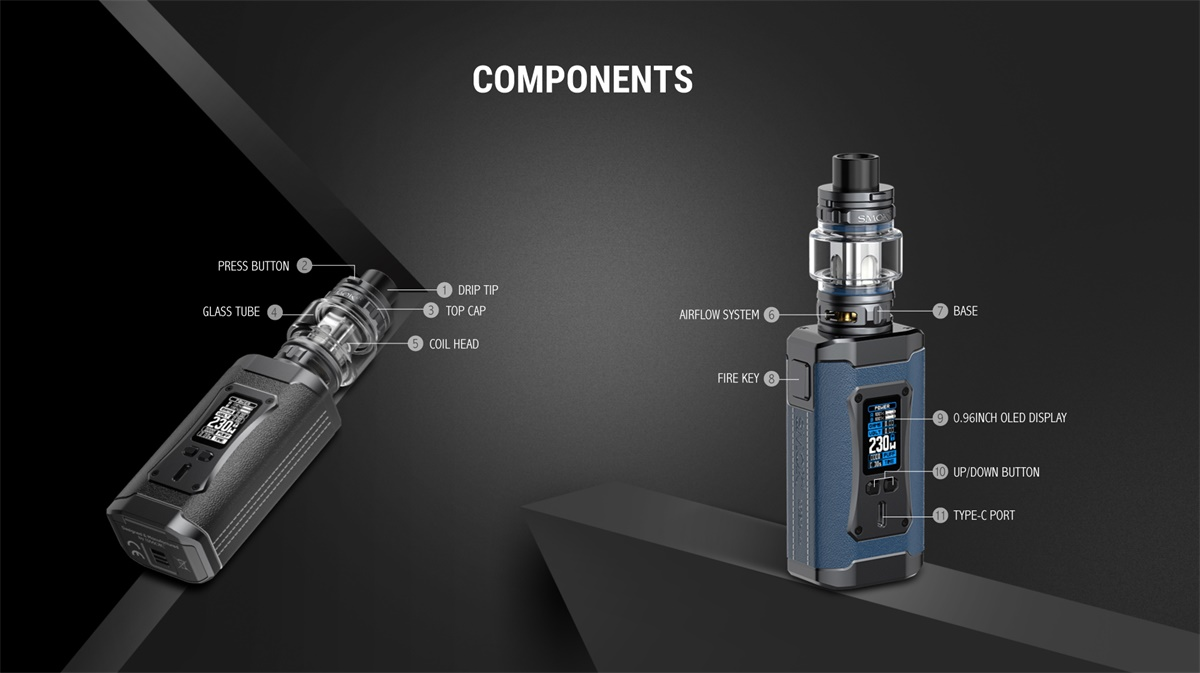SMOK Morph 2 Kit - Components