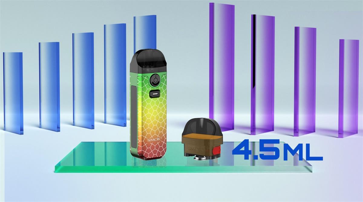 SMOK Nord 4 - Capacity