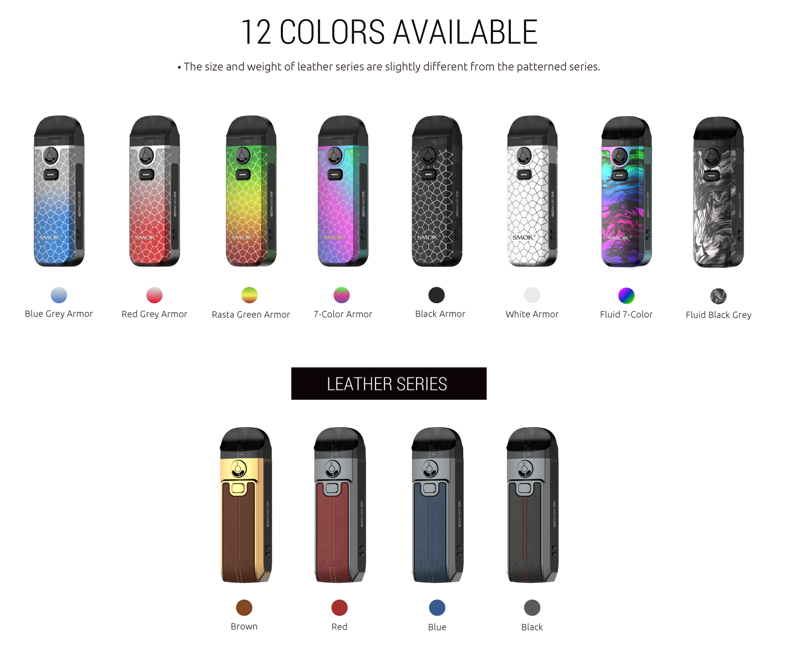 SMOK Nord 4 - Colors