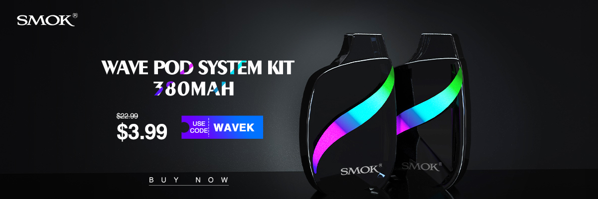Wismec Wave Pod Kit in Vapesourcing