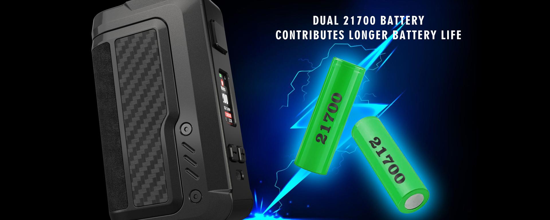 Vandy Vape Gaur-21 Dual 21700 Battery Mod
