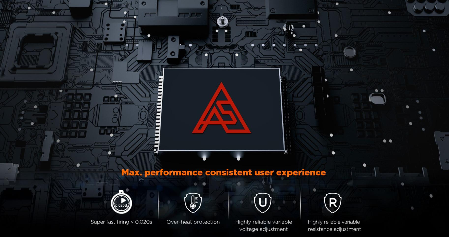 Kit de bônus Aegis Boost LE - AS Chip