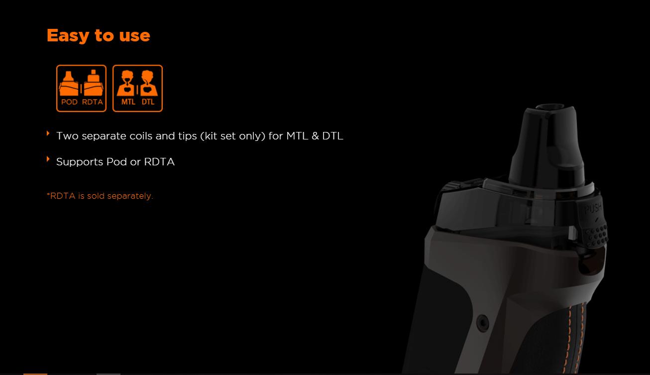 Kit de Mod Bonus Pod Aegis Boost LE