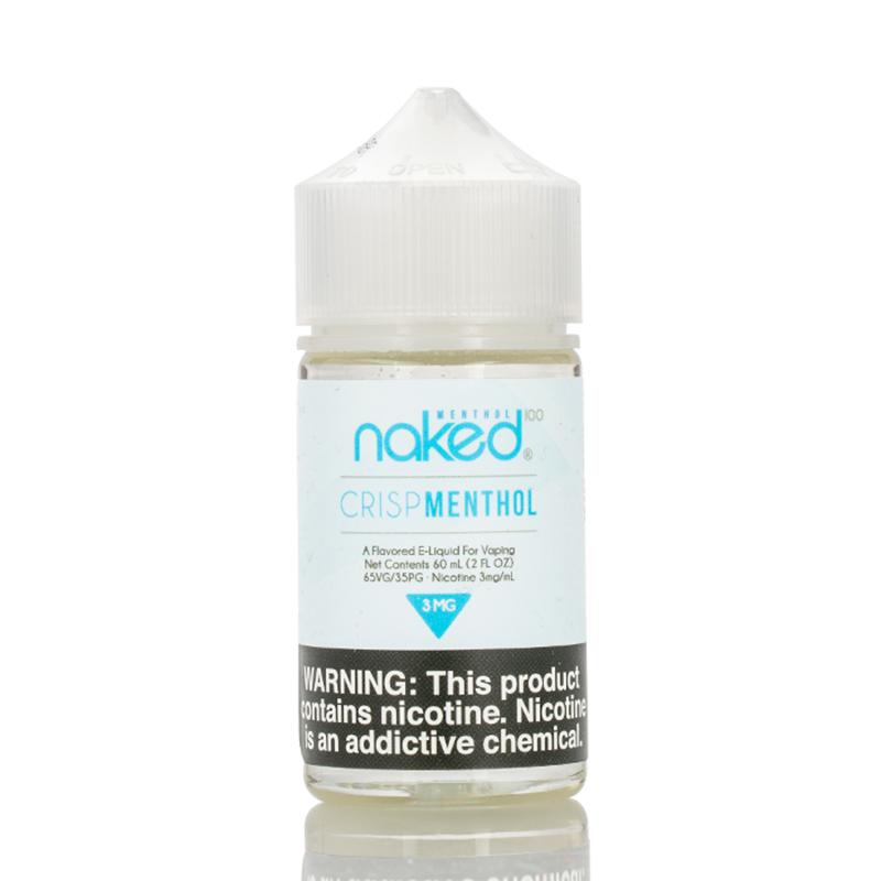 Naked 100 Crisp Menthol 60ml Vape Juice   ET USA