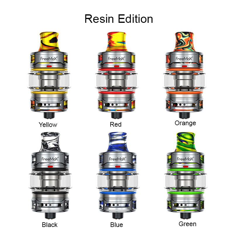 freemax fireluke 22 tank resin edition