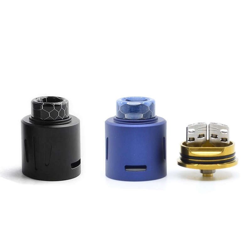 teslacigs invader 4x rda and build deck