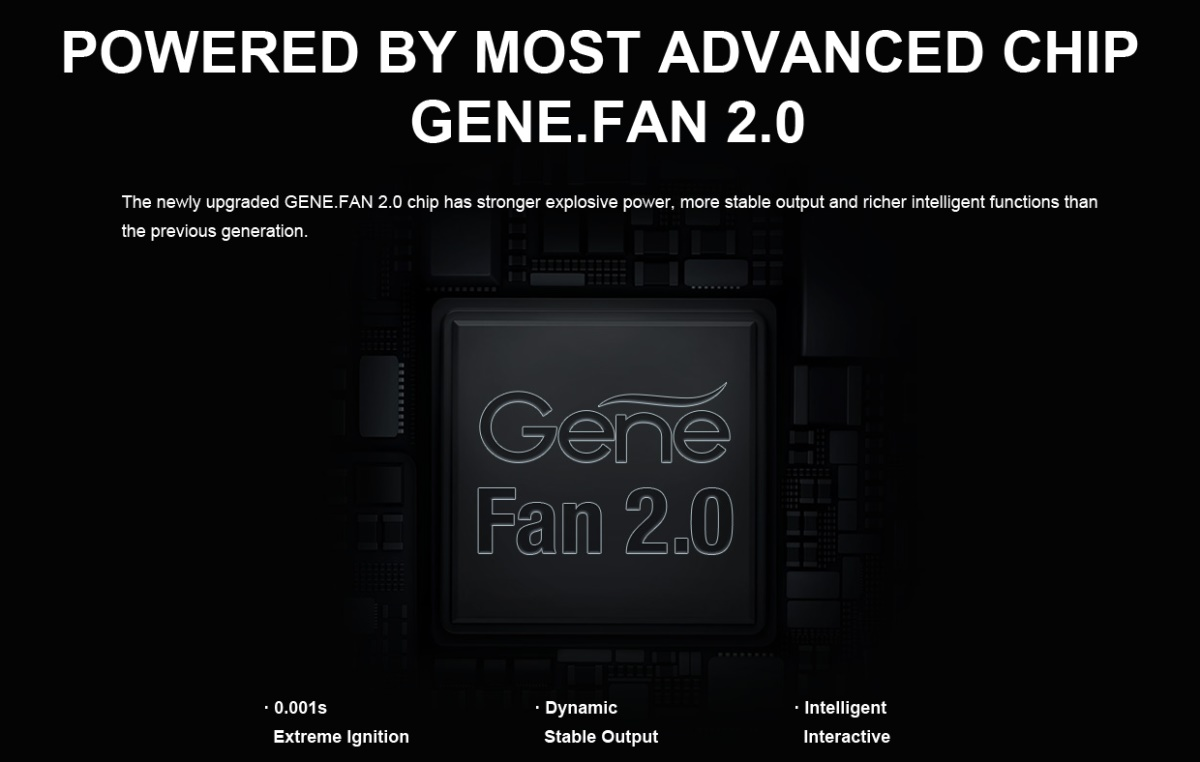 DRAG 3 GENE FAN 2.0 Chip