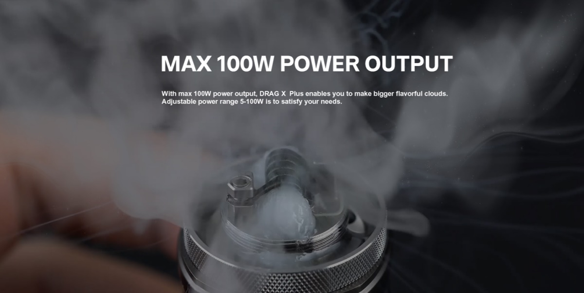 DRAG X Plus 100W Kit