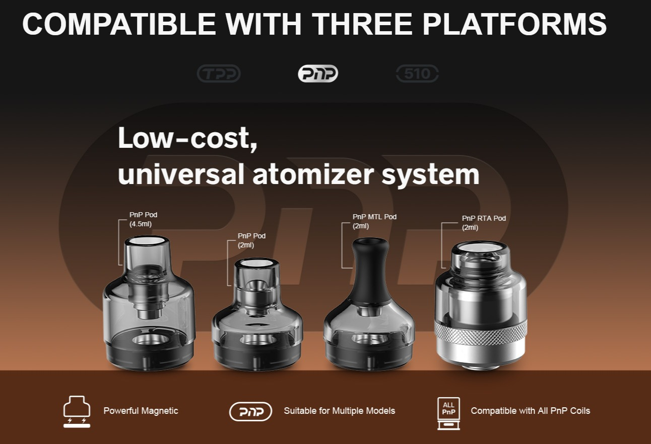 DRAG X Plus Compatible with PnP Platform