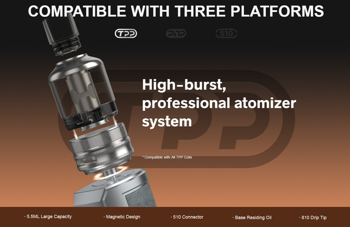 DRAG X Plus Compatible with TPP Platform
