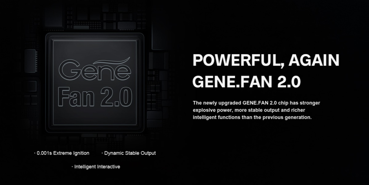 DRAG X Plus GENE.FAN 2.0 Chip