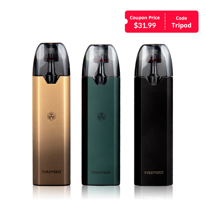 Uwell Tripod Pod System Kit with 1000mAh Charging Case